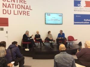 Conférence sur les héroïnes au salon du livre de Paris 2017