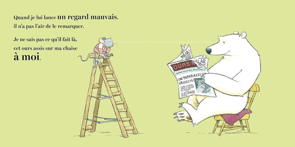 Un ours sur ma chaise - Ross Collins - page intérieure 3